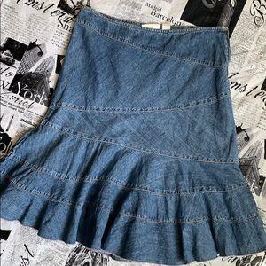 Dkny Skirts - DKNY midi denim skirt